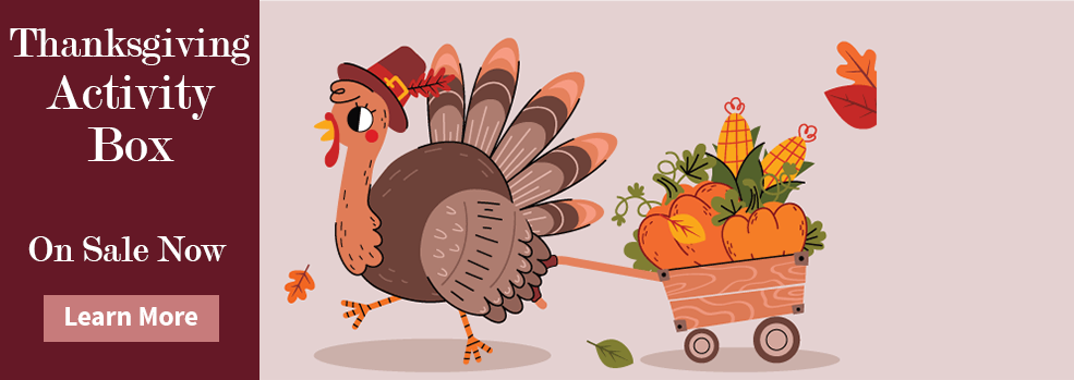 Link to order a thanksgiving holiday activity box for kids